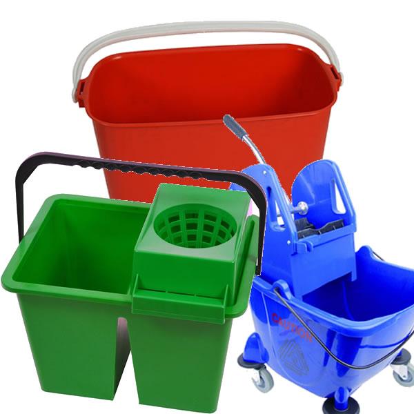 Buckets & Wringers
