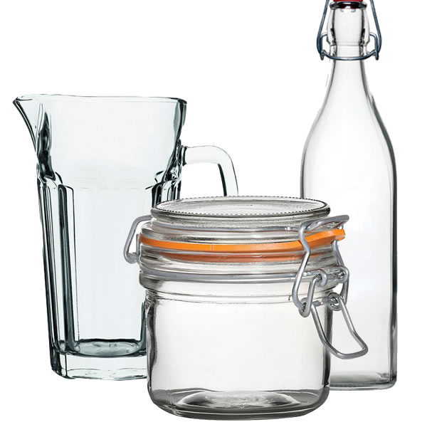 Jugs, Jars, Terrines, Bottles & Carafes