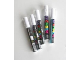 PEN CHALK INDOOR DRYWIPE WHITE