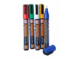 CHALK PEN OUTDOOR WET WIPE COLOURED
