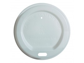 LID COMPOSTABLE FOR 12OZ CUPS
