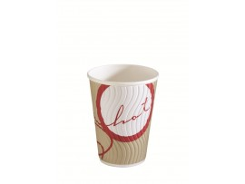 CUP PAPER HOT CUPPOCCINO 12OZ