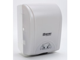 DISPENSER  HAND TOWEL BAYWEST WHITE
