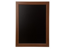 "BOARD WOODEN FRAME BLACK 18""X24"""