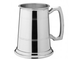 ALBANY TANKARD POLISHED PEWTER 10OZ/100MM