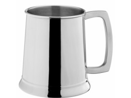 TANKARD STAINLESS STEEL 20OZ/110MM