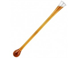 GLASS AND LID PLASTIC YARD OF ALE 48OZ
