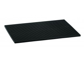 MAT BAR BLACK 12X18""