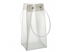 """BAG WINE/CHAMPAGNE FROSTED 10""""/25CM PKT6"""