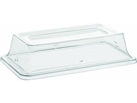 GASTRONORM BALSAM PALETTE CLEAR LID 2/4