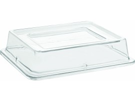 GASTRONORM BALSAM PALETTE CLEAR LID 1/2