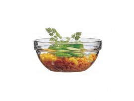 GLASS STACKING BOWL 3.5INCH