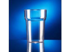 GLASS TUMBLER PLASTIC INTASTAX 10oz CE