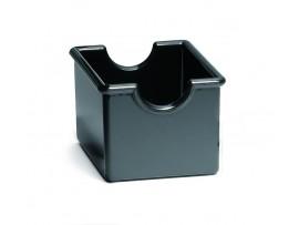 "PACKET HOLDER PLASTIC BLACK 3.25X2.5X2"""