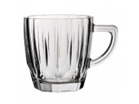 MUG GLASS DIAMOND 8.75OZ/85MM