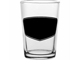 CONICAL TASTER GLASS 7OZ C/W BLACKBOARD