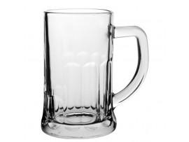 ABBEY TANKARD GLASS CE STAMPED 20OZ