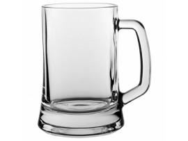 BEER MUG GLASS 16.75OZ