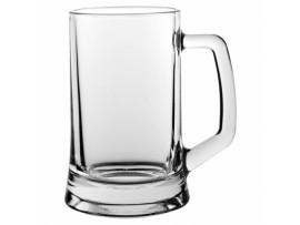 BEER MUG GLASS 14OZ