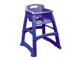 BABY CHAIR STURDY BLUE