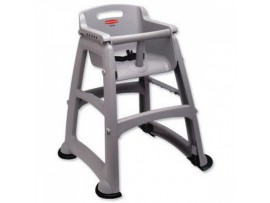 BABY CHAIR STURDY GREY