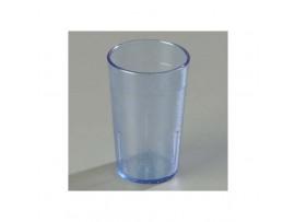 TUMBLER MELAMINE FLUTED BLUE 15CL