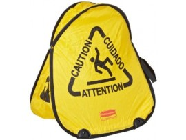 CONE FOLDING SAFETY MULTILINGUAL 'CAUTION'