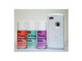 AIR FRESHENER MACHINE & 3 AIRFRESHENERS