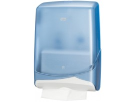 DISPENSER HAND TOWEL S/FOLD BLUE