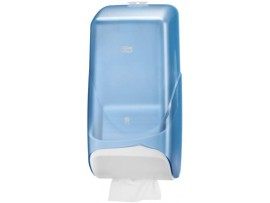 DISPENSER FOLDED T/PAPER TORK BLUE
