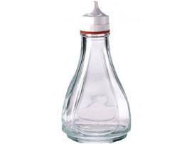 LIGHTHOUSE VINEGAR BOTTLE CLEAR