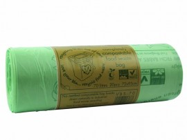 SACK COMPLETELY COMPOSTABLE 70L ON ROLL