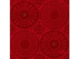FESTIVE CHARME RED NAPKIN 3PLY 24CM