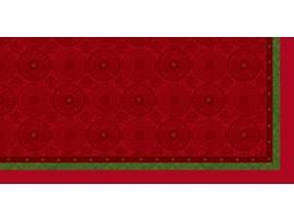 FESTIVE CHARME RED SLIPCOVER DUNICEL 84CM