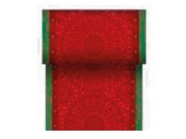 FESTIVE CHARME RED TABLERUN DCEL 0.15X20M