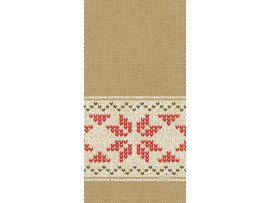 URBAN YULE NATURAL NAPKINS D-SOFT 20X40CM