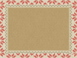 URBAN YULE NATURAL PLACEMATS DCELL 30X40CM
