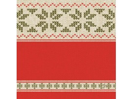 URBAN YULE RED NAPKINS D-LIN 40CM