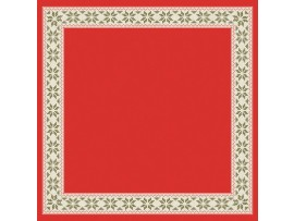 URBAN YULE RED SLIPCOVER DUNICEL 84CM