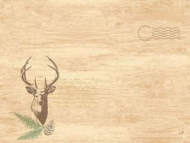 PLACEMATS D CEL 30X40 MY DEER