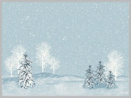 PLACEMATS D CEL 30X40 WINTER MORNING