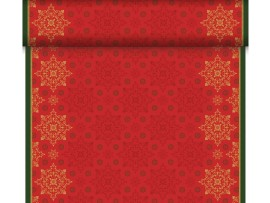 XMAS DECO RED TETE A TET DUNICEL 0.4X24M